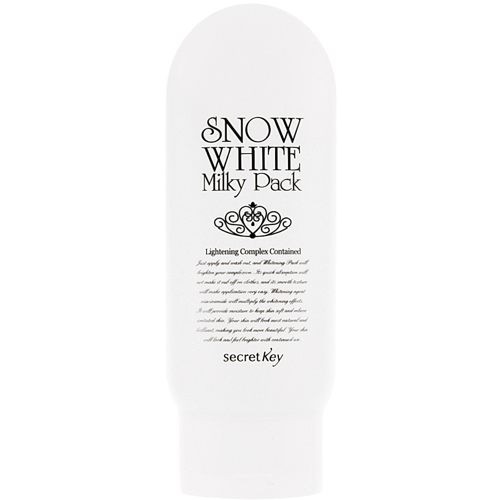 "Отбеливающая маска для лица ""Белоснежка"" Secret Key Snow White Milky Pack 200 г (8809305995989)"