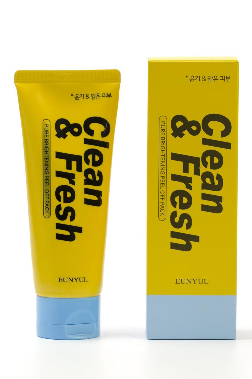 Ночная маска для сияющей кожи Eunyul Clean & Fresh Pure Brightening Sleeping Pack 120 мл (8809435404252)