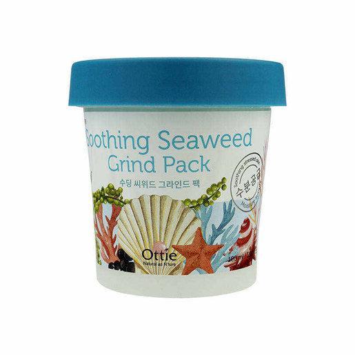 Заспокійлива маска для обличчя з морськими водоростями і водою Ottie Soothing Seaweed Grind Pack 100 мл