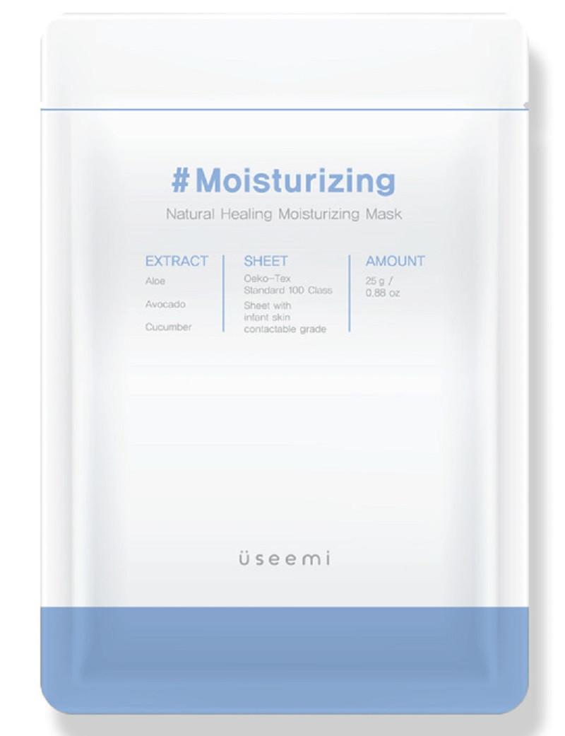 Натуральная увлажняющая маска для лица Useemi Natural Healing Mask Moisturizing 25 г (8809638300177)