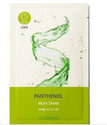 Тканевая увлажняющая маска для лица The Saem Bio Solution Moisturizing Panthenol Mask Sheet 22 мл (8806164164709)