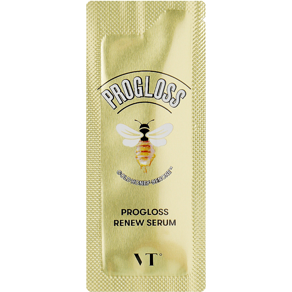 Сыворотка для тусклой кожи лица с прополисом и маточным молочком VT Cosmetics Progloss Renew Serum 1,5 мл (8809695671128)