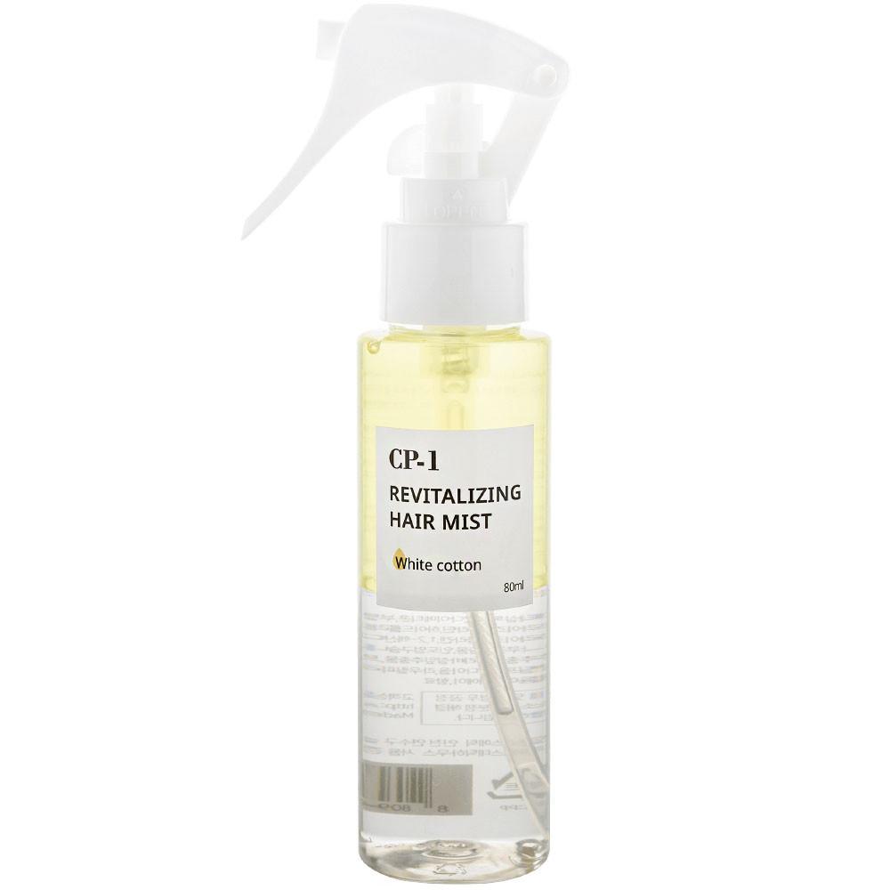 Двухфазный парфюмированный спрей для волос Esthetic House CP-1 Revitalizing Hair Mist White Cotton 80 мл (8809450011671)
