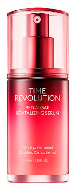 Восстанавливающая сыворотка для лица Missha Time Revolution Red Algae Revitalizing Serum 40 мл (8809643527040)
