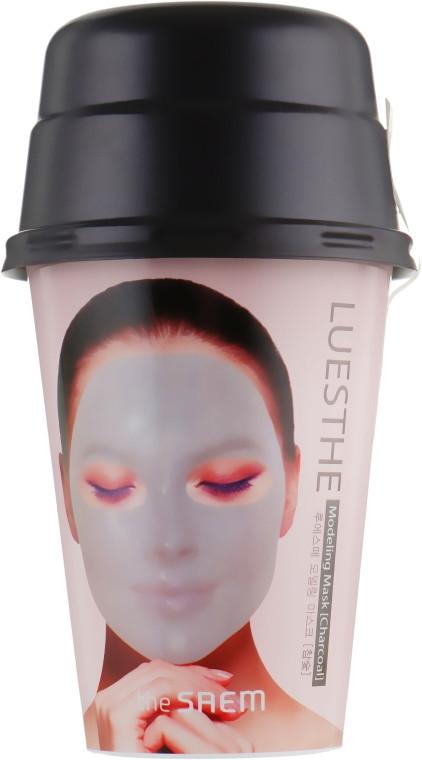 Альгинатная маска для лица с древесным углем The Saem Luesthe Modeling Mask Charcoal 45 г +10 г (8806164155936)