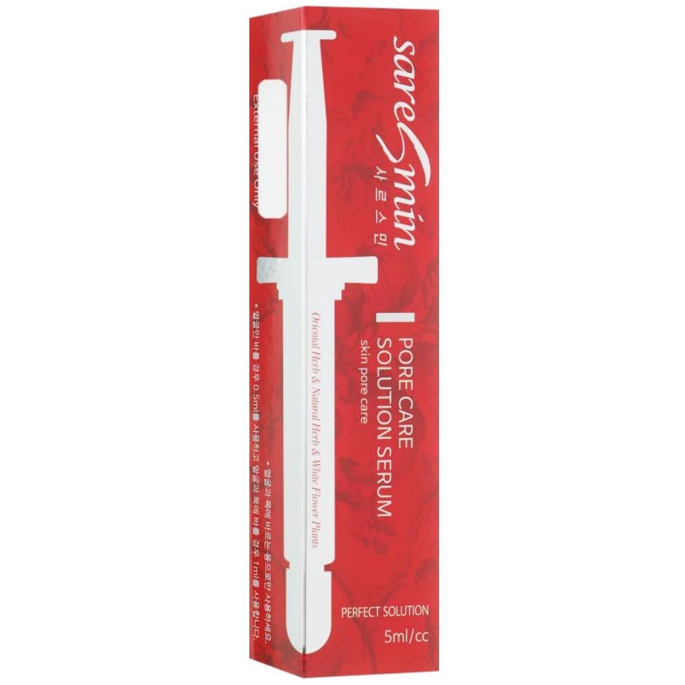 Сыворотка для лица очищающая и сужающая поры Saresmin Pore Care Solution Serum 5 мл (8809144084363)