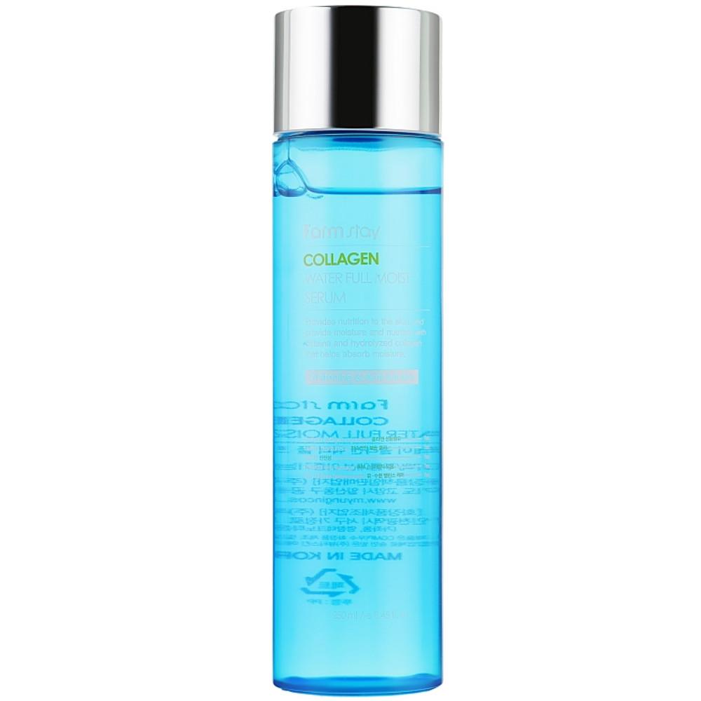 Увлажняющая сыворотка для лица с коллагеном Farmstay Collagen WaterFull Moist Serum 250 мл (8809480770876)