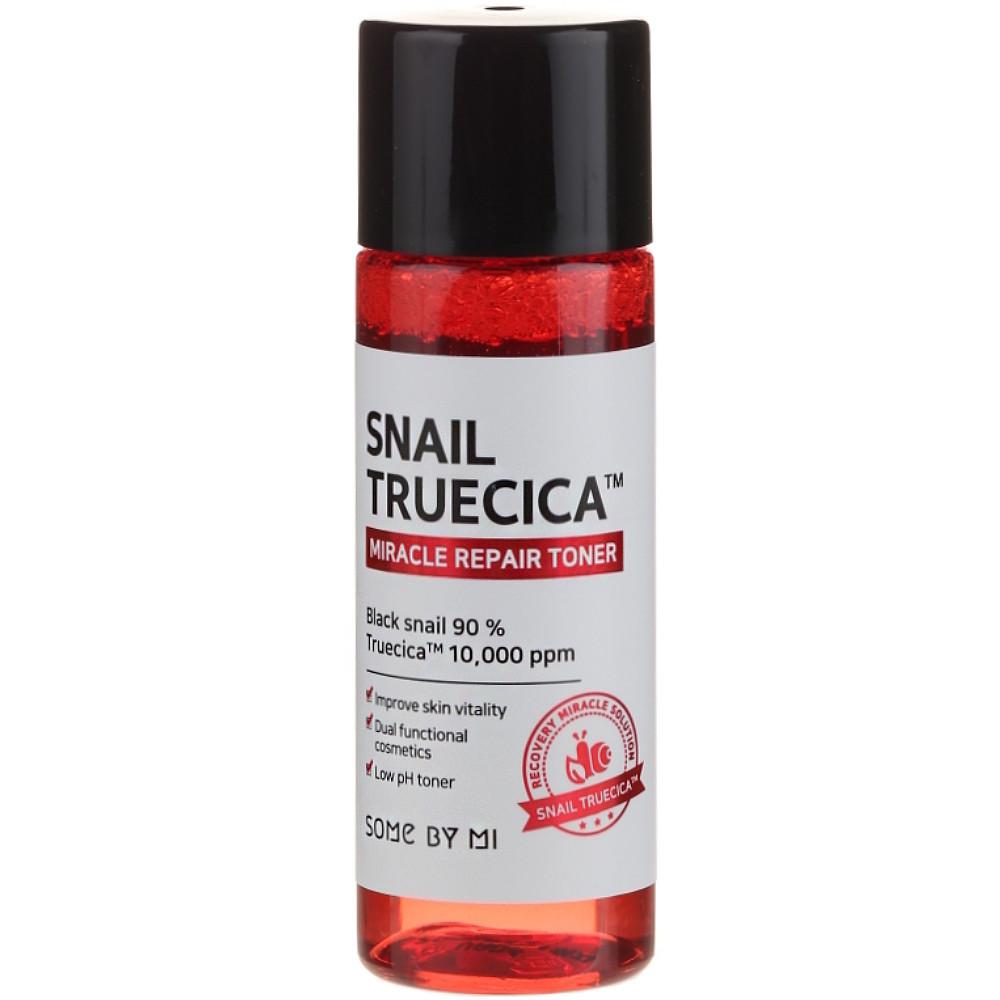 Набор миниатюр средств с улиткой для проблемной кожи лица Some By Mi Snail Truecica Miracle Repair Starter Kit (8809647390534)