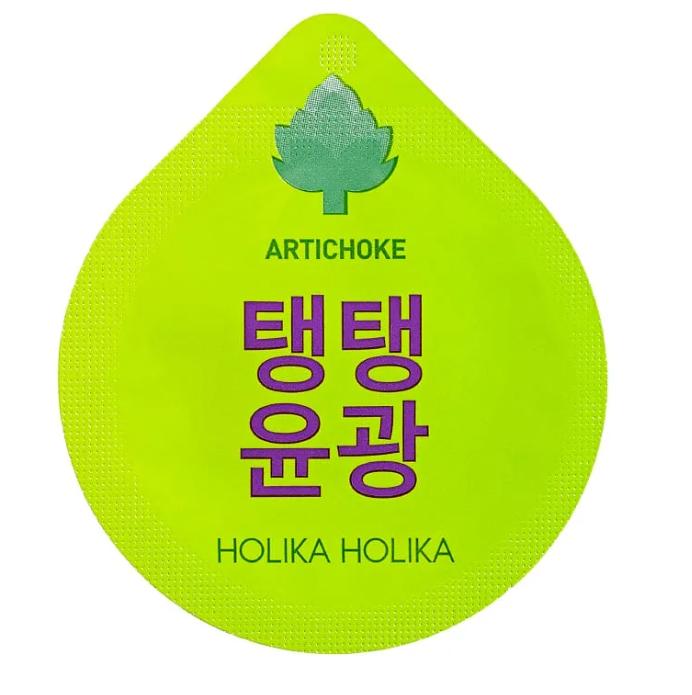 Антивозрастная ночная маска для лица Holika Holika Super Food Capsule Pack Anti-wrinkle Artichoke 10 г (8806334371081)