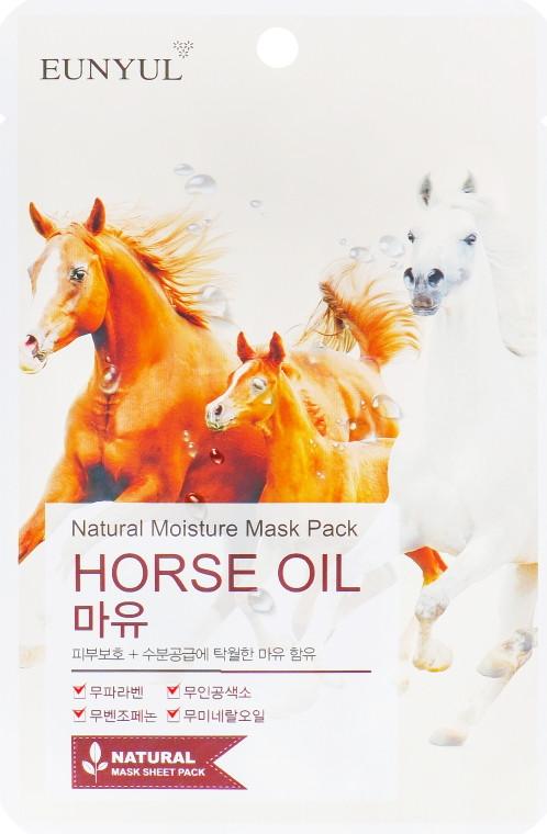 Увлажняющая маска для лица с лошадиным жиром Eunyul Natural Moisture Mask Pack-Horse Oil 25 мл (8809435402173)