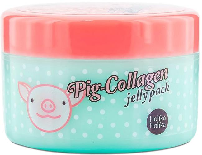 Ночная маска для лица с коллагеном Holika Holika Pig Collagen Jelly Pack 80 г (8806334353964)