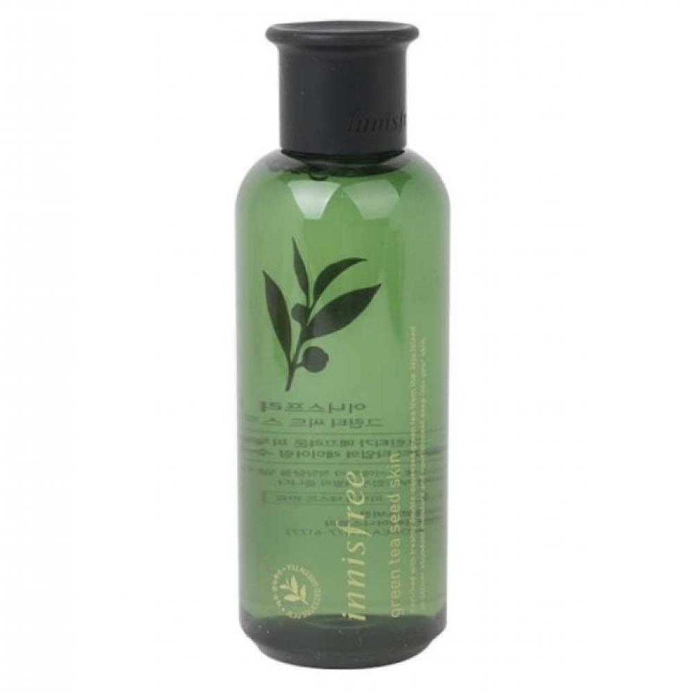 Увлажняющий тонер для лица с экстрактом семян зеленого чая Innisfree Green Tea Seed Skin 200 мл (8809612852715)