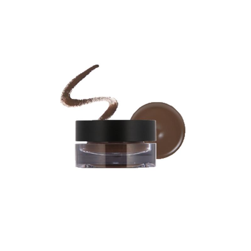 Гелевая термоподводка для глаз Tony Moly Easy Touch Gel Eyeliner 02 Brown 3.8 г (8806358513795)