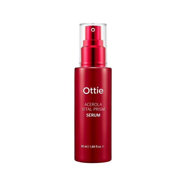 Питательная сыворотка для лица с ацеролой Ottie Acerola Vital Prism Serum 50 мл (8809276016416)