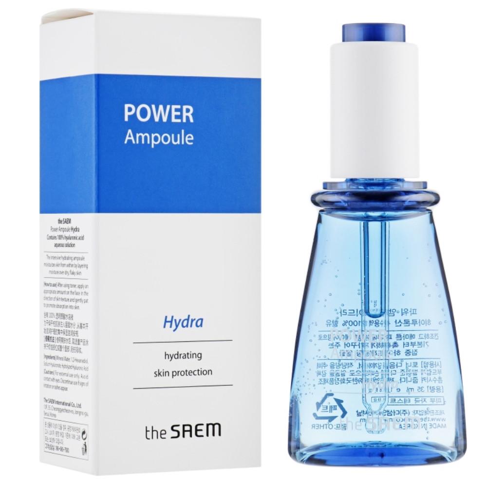 Увлажняющая эссенция для лица ампульная The Saem Power Ampoule Hydra 35 мл (8806164152553)