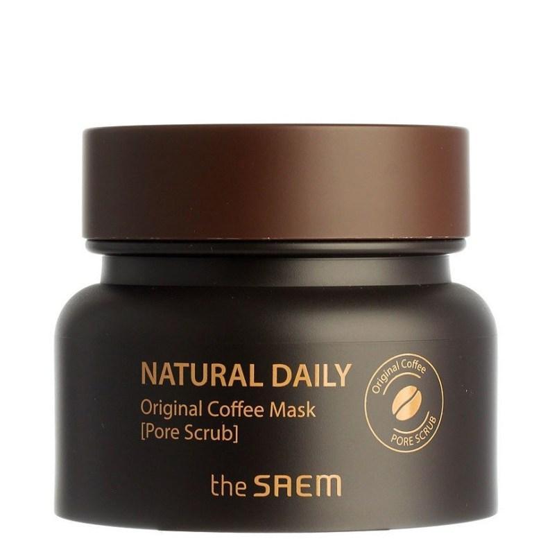 Кофейная маска-скраб для кожи с расширенными порами The Saem Natural Daily Original Coffee Mask 100 г (8806164149546)