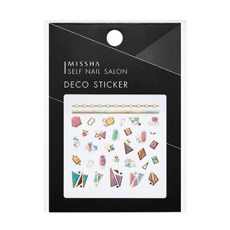 Декоративные стикеры для маникюра Missha Self Nail Salon Deco Sticker No.7/Bright Piece of Peral 1 шт (8809530039533)