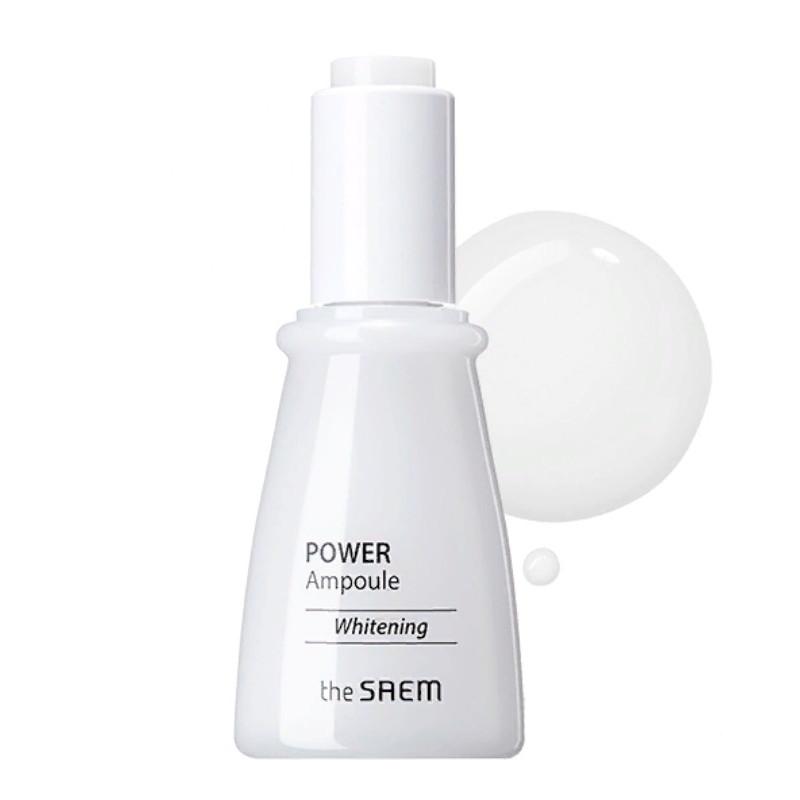 Ампульная осветляющая эссенция для лица The Saem Power Ampoule Whitening 35 мл (8806164152584)