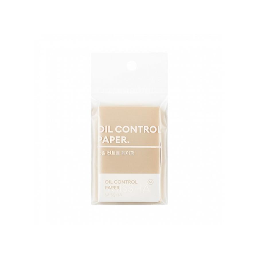 Матирующие салфетки для лица Missha Oil Control Paper 100 шт (8809581470279)