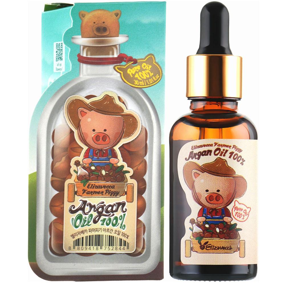 Аргановое масло Elizavecca Farmer Piggy Argan Oil 100% 30 мл (3624)