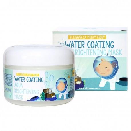 Увлажняющая маска осветляющая тон кожи Elizavecca Milky Piggy Water Coating Aqua Brightening Mask 100 мл (8809339904131)