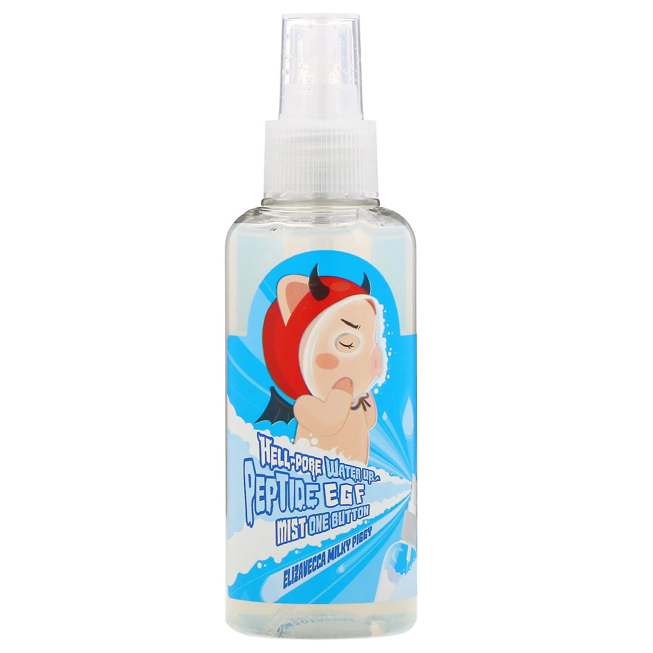 Мист для лица с пептидами Elizavecca Hell-Pore Water Up Peptide EGF Mist One Button 150 мл (8809418751205)