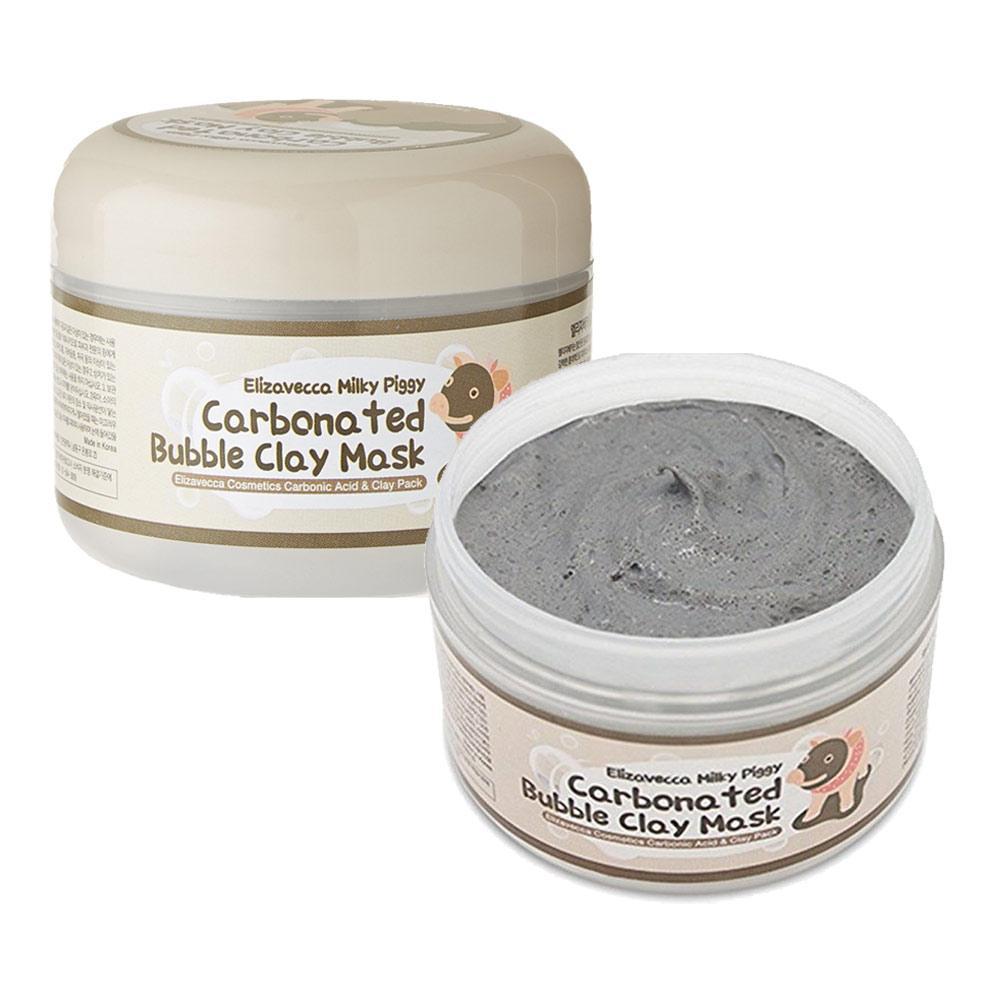 Кислородная маска на основе глины Elizavecca Milky Piggy Carbonated Bubble Clay Mask 100 мл (8809071369427)