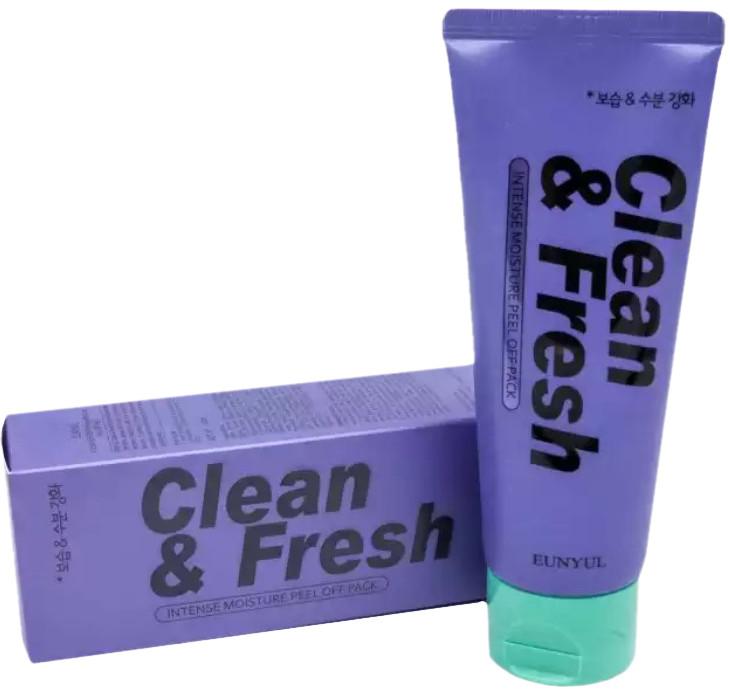 Увлажняющая маска-пленка для лица Eunyul Clean & Fresh Peel Off Pack Intense Moisture 100 мл (8809435404023)