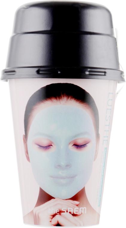 Альгинатная маска для лица с гиалуроновой кислотой The Saem Luesthe Modeling Mask Hyaluronic Acid 45г+10г (8806164155929)