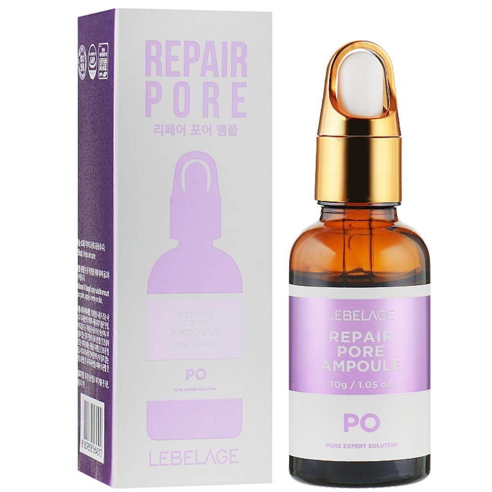 Сыворотка для лица сужающая поры Lebelage Repair Pore Po Ampoule 30 мл (8809338564510)