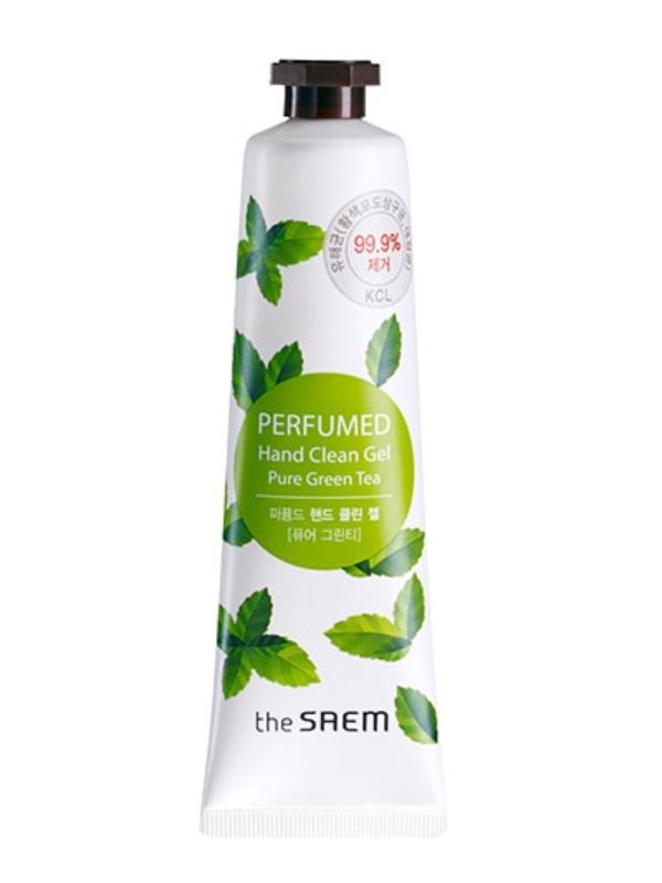 Парфюмированный антисептик для рук The Saem Perfumed Hand Clean Gel Pure Green Tea 30 мл (8806164128596)