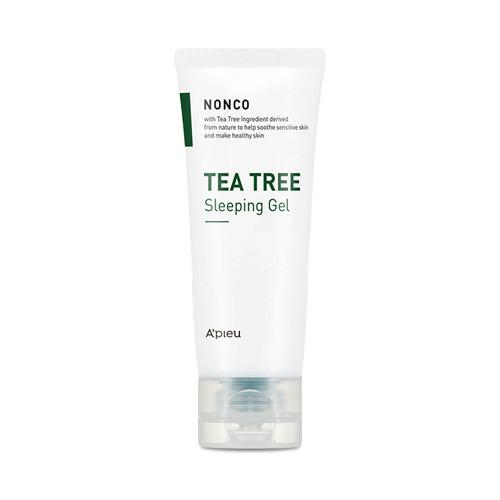 Ночная маска для лица с маслом чайного дерева A'pieu Nonco Tea Tree Sleeping Gel 80 мл (8809581460546)