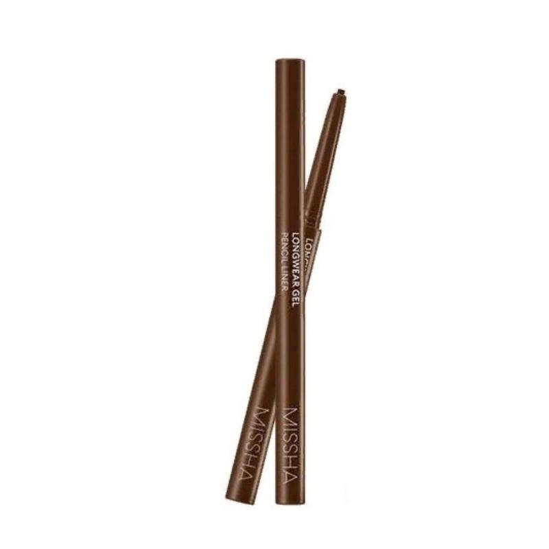 Устойчивый карандаш для глаз Missha Long Wear Gel Pencil Liner Camel Brown 0,14 г (8809581462717)