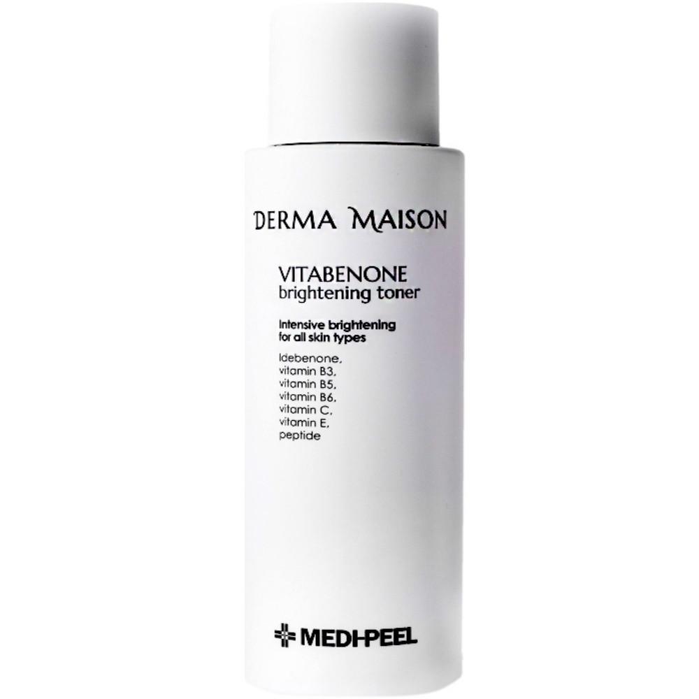 Витаминный тонер для выравнивания тона кожи MEDI-PEEL Derma Maison Vitabenone Brightening Toner 250 мл (8809409344911)