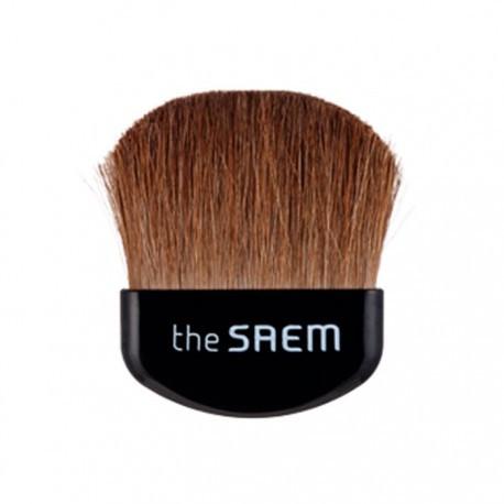 Мини-кисть для нанесения румян с натуральным ворсом The Saem Mini Blusher Brush 1 шт (8806164113332)