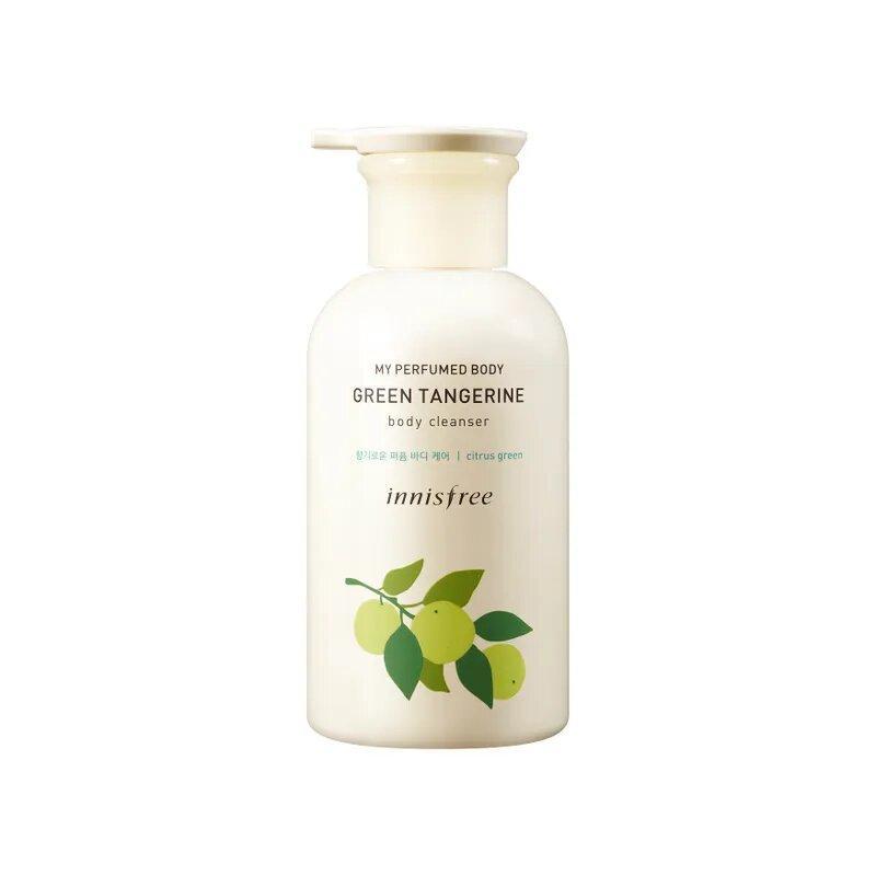 Парфюмированный гель для душа зеленый мандарин Innisfree My Perfumed Body Body CleanserGreen Tangerine 330 мл (8809612861663)