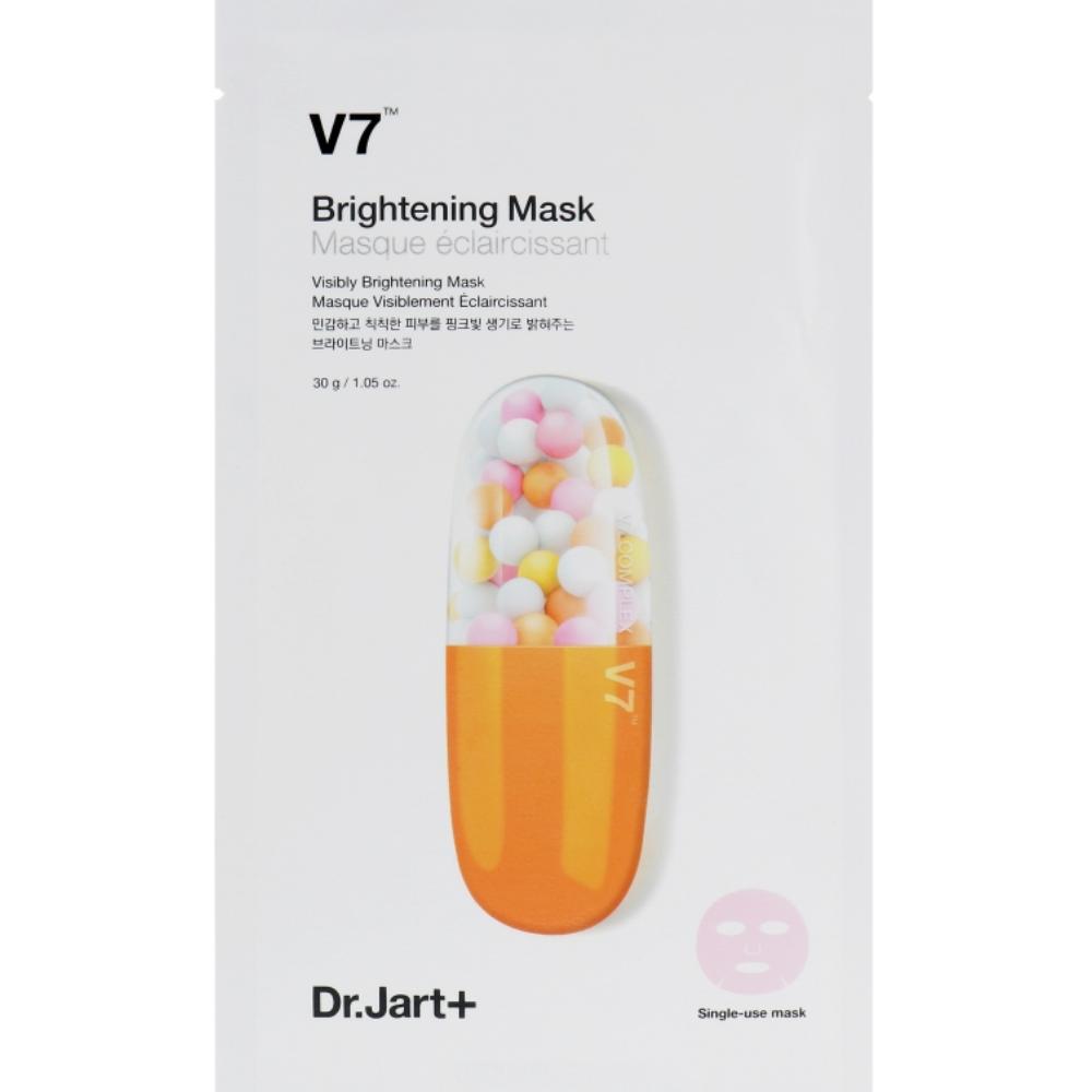 Осветляющая маска для лица с витаминным комплексом Dr.Jart+ V7 Brightening Mask 30 мл (8809535809070)
