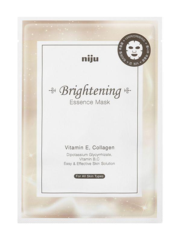 Осветляющая маска для лица Konad Niju Brightening Essence Mask Skin Care 17 мл (8809109831209)