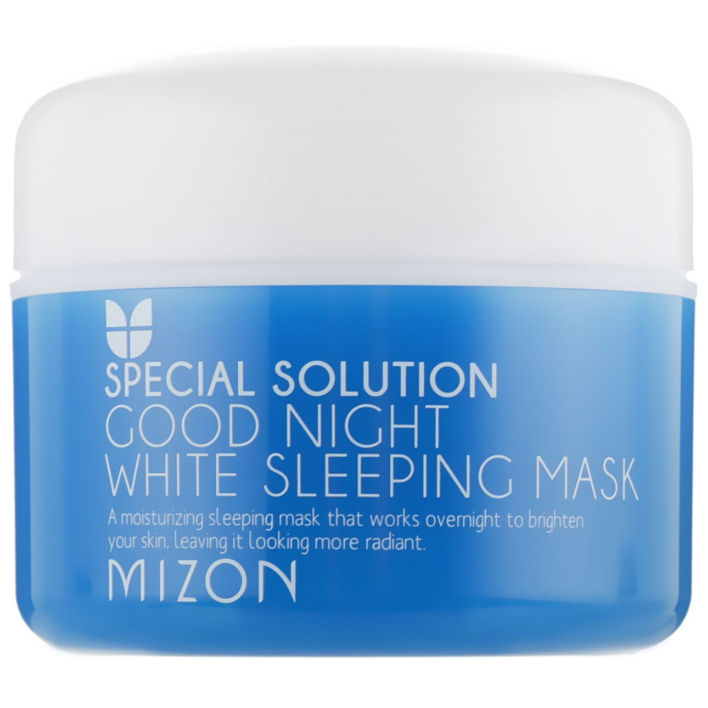 Ночная отбеливающая маска для лица Mizon Good Night White Sleeping Mask 80 мл (8809325902707)