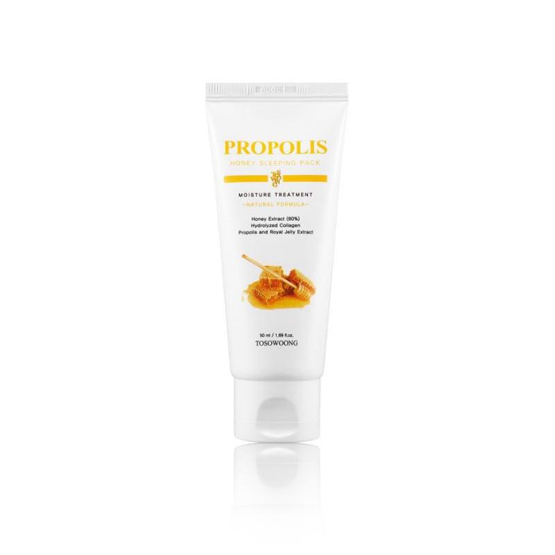 Ночная питательная маска для лица с прополисом Tosowoong Propolis Honey Sleeping Pack 50 мл (8809179104500)
