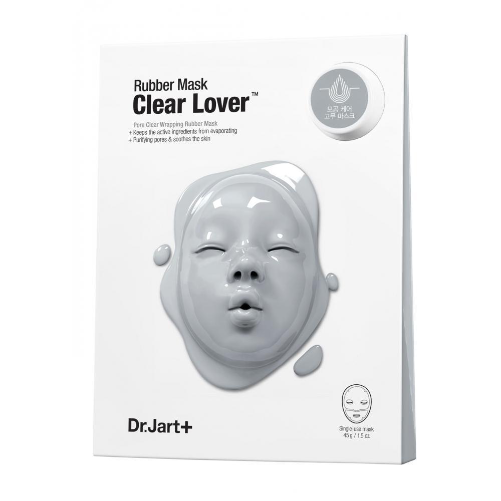 Моделирующая альгинатная маска для лица Dr. Jart+ Dermask Rubber Mask Clear Lover 43 г + 5 мл (8809380649449)