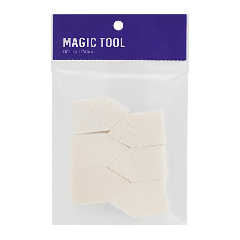 Набор спонжей для макияжа Holika Holika Magic Tool Foundation Sponge 6 шт (8806334379193 )
