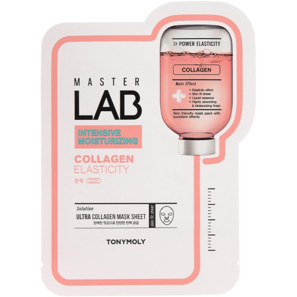 Тканевая маска для лица с коллагеном Tony Moly Master Lab Collagen Elasticity Mask Sheet 19 мл (8806358569716)