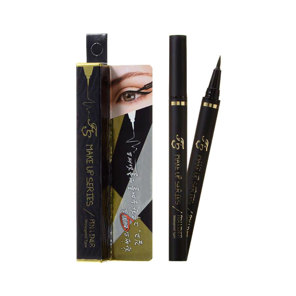 Жидкая подводка-лайнер для глаз черная Farmstay Make-Up Series Pen Liner 0,9 г (8809382400642)