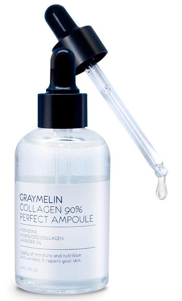 Омолаживающая ампульная сыворотка для лица с коллагеном Graymelin Collagen 90% Perfect Ampoule 50 мл (8809429952271)