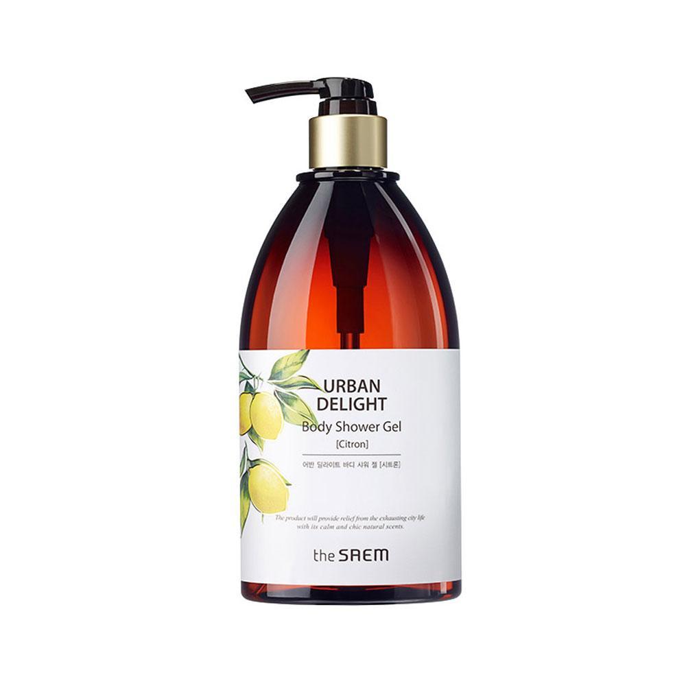 Увлажняющий гель для душа с экстрактоми грейпфрута и бергамота The Saem Urban Delight Body Shower Gel Citron (8806164143728)
