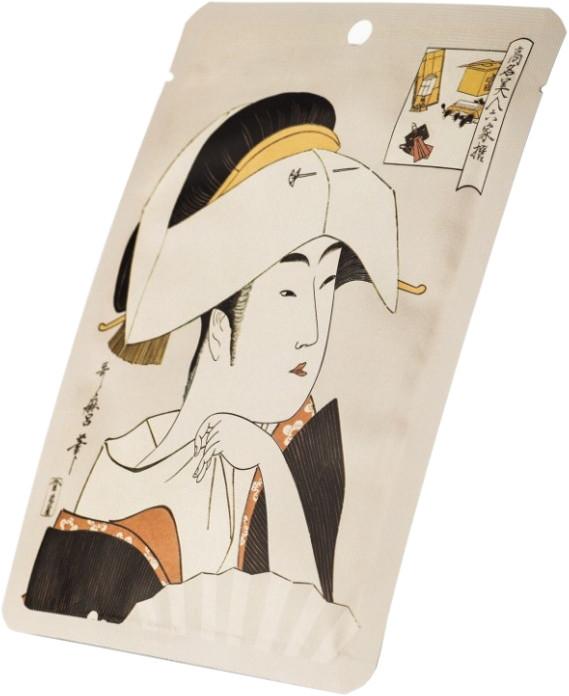 Увлажняющая тканевая маска для лица Mitomo Essence Sheet Mask Hyaluronic + Lithospermum 25 г (4582419530201)