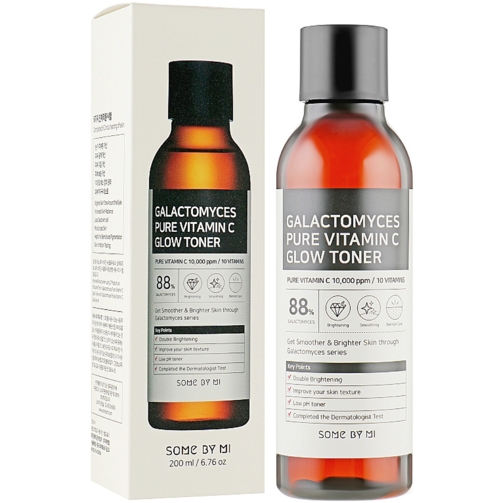 Тонер для лица с витамином С и галактомисисом Some By Mi Galactomyces Pure Vitamin C Glow Toner 200 мл (8809647390121)