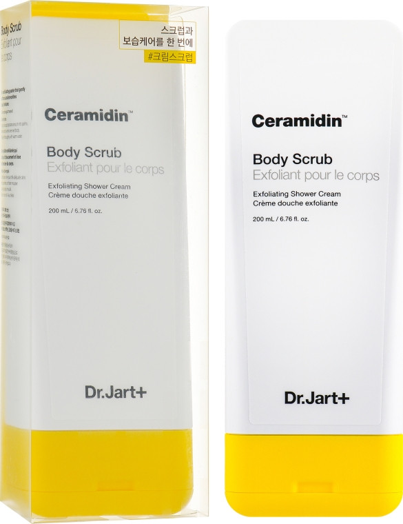 Скраб для тела с керамидами Dr.Jart+ Ceramidin Body Scrub 200 мл (8809535802439)