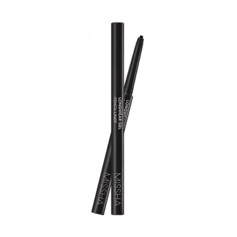 Устойчивый карандаш для глаз Missha Long Wear Gel Pencil Liner Titan Black 5 г (8809581462687)